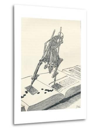 The Modern Dance of Death, C1895-Joseph Kaspar Sattler-Metal Print