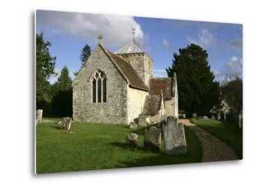 All Saints Church, Fonthill Bishop, Wiltshire, 2005-Peter Thompson-Metal Print