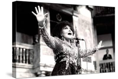 Cleo Laine, the Globe, London, 2000-Brian O'Connor-Stretched Canvas Print