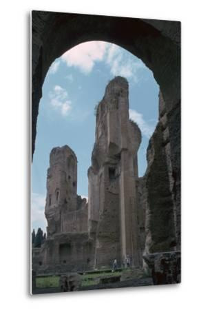 Baths of Caracalla, Built by the Emperors Instruction, 3rd Century-CM Dixon-Metal Print