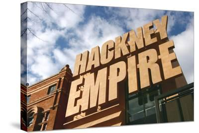 Hackney Empire, London-Peter Thompson-Stretched Canvas Print