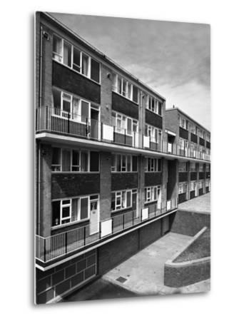 Woodside Maisonettes, Sheffield 13th August 1962-Michael Walters-Metal Print