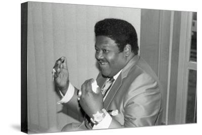 Fats Domino, Royal Festival Hall, London, 1985-Brian O'Connor-Stretched Canvas Print