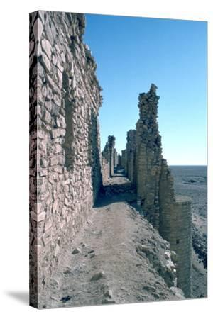 Sentry Walk, Fortress of Al Ukhaidir, Iraq, 1977-Vivienne Sharp-Stretched Canvas Print