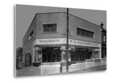 Woolworths Store, Parkgate, Rotherham, South Yorkshire, 1957-Michael Walters-Metal Print