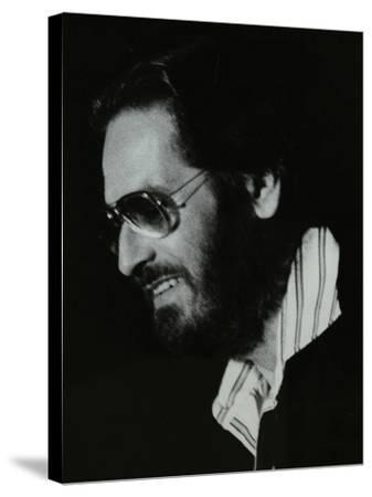 Pianist Bill Evans at the Newport Jazz Festival, Middlesbrough, 1978-Denis Williams-Stretched Canvas Print
