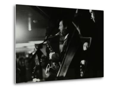 Saxophonist Bob Sydor Playing at the Torrington Jazz Club, Finchley, London, 1988-Denis Williams-Metal Print