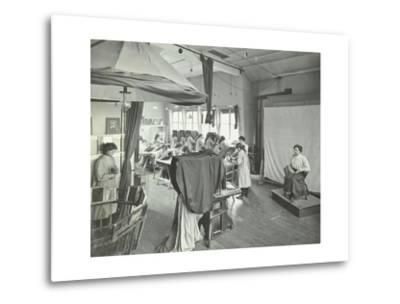 Photography Students at Work, Bloomsbury Trade School for Girls, London, 1911--Metal Print