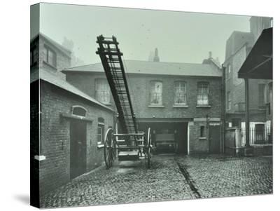 Clerkenwell Fire Station, No 44 Rosebery Avenue, Finsbury, London, 1910--Stretched Canvas Print