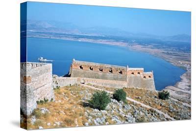Fortress of Palamidi, Nafplion, Peloponnese, Greece-Vivienne Sharp-Stretched Canvas Print