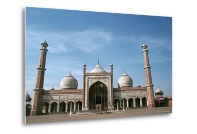 Jama Masjid, Delhi, India-Vivienne Sharp-Metal Print