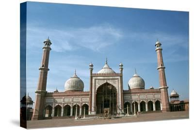 Jama Masjid, Delhi, India-Vivienne Sharp-Stretched Canvas Print