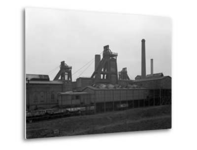 A View of Horden Colliery, County Durham, 1964-Michael Walters-Metal Print