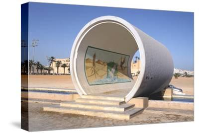 Great Man-Made River Monument, Tripoli, Libya, Late 20th Century-Vivienne Sharp-Stretched Canvas Print