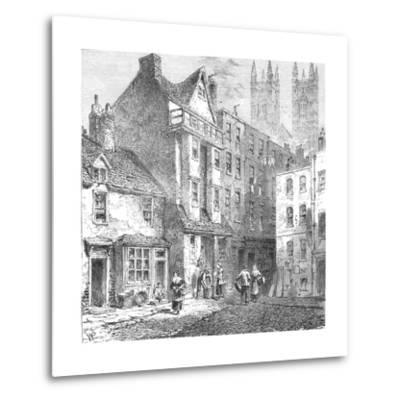 Caxtons House, Westminster, 1827--Metal Print