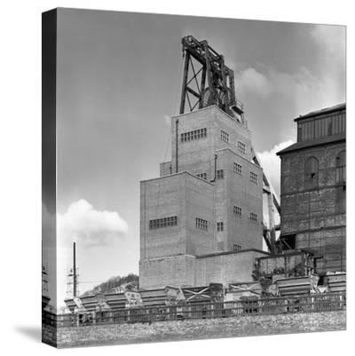 The Heapstead at Kadeby Colliery, Near Doncaster, South Yorkshire, 1956-Michael Walters-Stretched Canvas Print