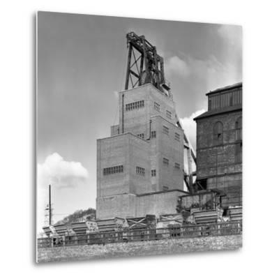The Heapstead at Kadeby Colliery, Near Doncaster, South Yorkshire, 1956-Michael Walters-Metal Print