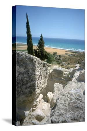 Theatre, Curium (Kourion), Cyprus, 2001-Vivienne Sharp-Stretched Canvas Print