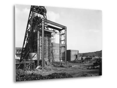 The Main Fan Drift at Rossington Colliery, Doncaster, South Yorkshire, 1966-Michael Walters-Metal Print