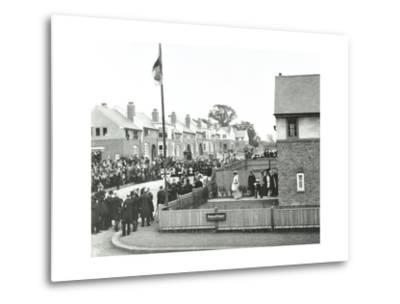 Opening Ceremony on Ruislip Street, Totterdown Estate, Wandsworth, London, 1903--Metal Print