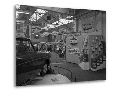 Exhibition at a Ford Dealers in Rotherham, South Yorkshire, 1964-Michael Walters-Metal Print