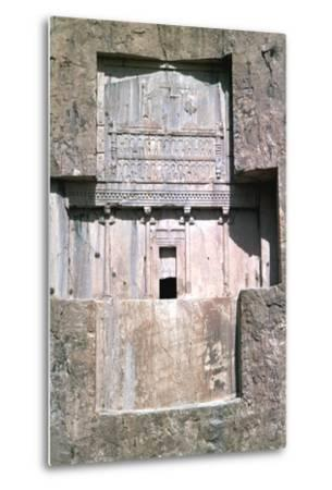 Tomb of Xerxes I, Naqsh-I-Rustam, Iran-Vivienne Sharp-Metal Print