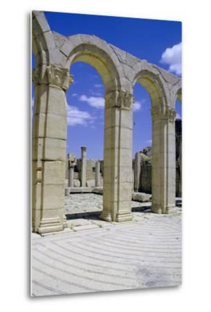 South-East Baths, Maktar, Tunisia-Vivienne Sharp-Metal Print
