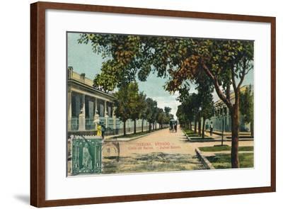 Banos Street, Havana, Cuba, C1910--Framed Giclee Print