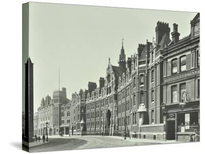 London Fire Brigade Headquarters, Southwark, London, 1911--Stretched Canvas Print