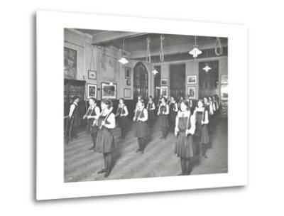Students in the Gymnasium, Ackmar Road Evening Institute for Women, London, 1914--Metal Print