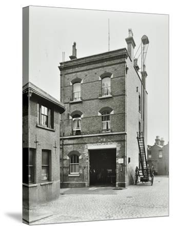 Blackheath Fire Station, Tranquil Vale, Blackheath, London, 1905--Stretched Canvas Print