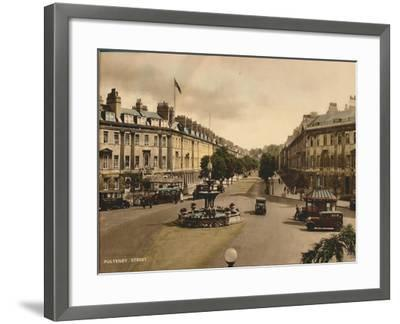 Pulteney Street, Bath, Somerset, C1925--Framed Giclee Print