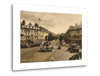 Pulteney Street, Bath, Somerset, C1925--Metal Print