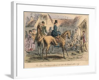 The Love Box Door Was Opened, Out Came the Hounds with a Cry, 1865-Robert Smith Surtees-Framed Giclee Print