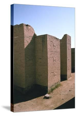 Ishtar Gate, Babylon, Iraq-Vivienne Sharp-Stretched Canvas Print