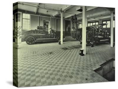 Dockhead Fire Station, No 8 Wolseley Street, Bermondsey, London, 1929--Stretched Canvas Print