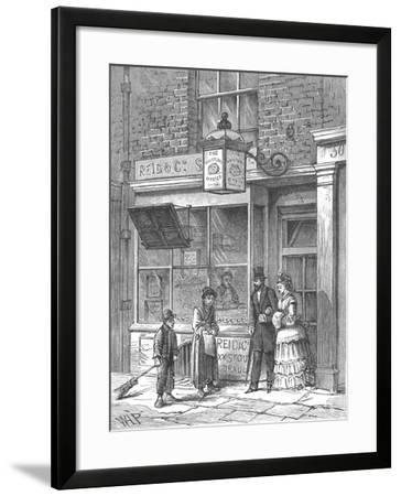 The Whistling Oyster, 1897--Framed Giclee Print