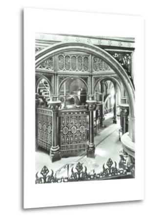 Interior of Crossness Sewage Treatment Works, Erith, London, 1949--Metal Print
