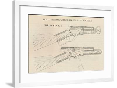 Marlin Gun No. 28, 1884--Framed Giclee Print