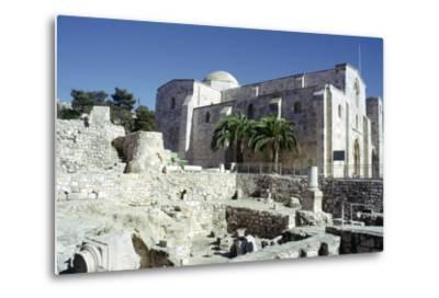 St Annes Church, Jerusalem, Israel-Vivienne Sharp-Metal Print