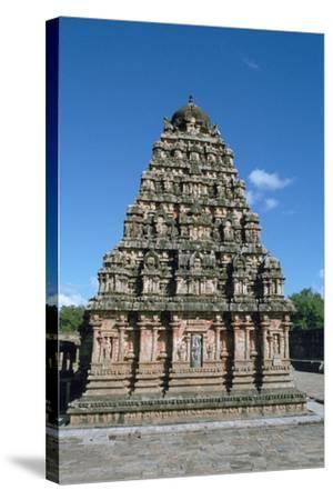 Airatesvara Temple, Dharasuram, Tamil Nadu, India-Vivienne Sharp-Stretched Canvas Print