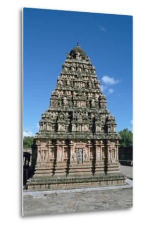 Airatesvara Temple, Dharasuram, Tamil Nadu, India-Vivienne Sharp-Metal Print