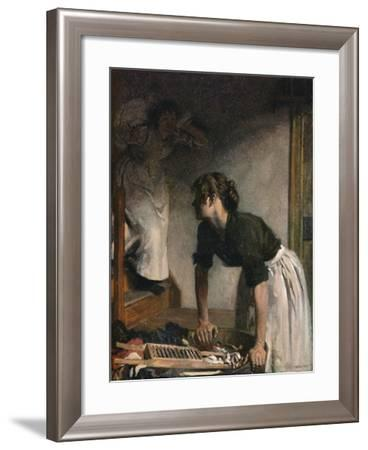 The Wash-House, 1905,-William Newenham Montague Orpen-Framed Giclee Print