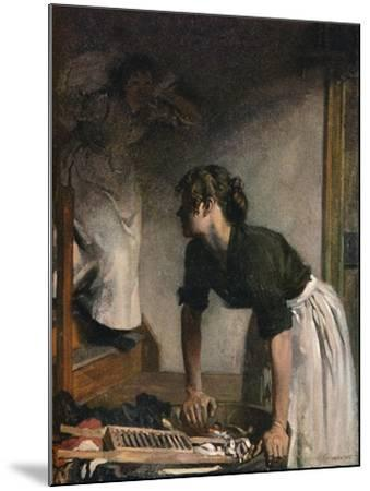 The Wash-House, 1905,-William Newenham Montague Orpen-Mounted Giclee Print