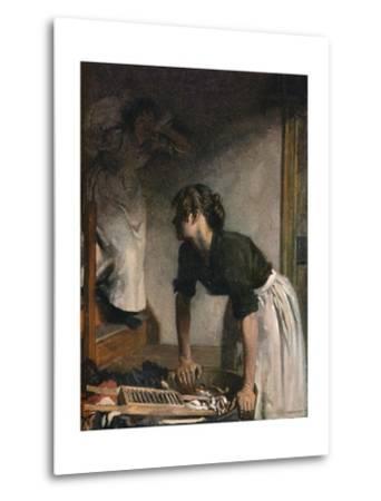 The Wash-House, 1905,-William Newenham Montague Orpen-Metal Print