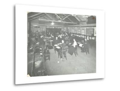 Typewriting Examination Class, Queens Road Evening Institute, London, 1908--Metal Print