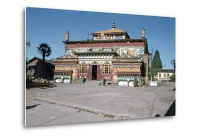 Ghum Monastery, Near Darjeeling, West Bengal, India-Vivienne Sharp-Metal Print