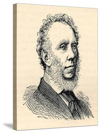 Edward Baines, (1774-1848), Printer, Paper Proprietor, Politician, 1893--Stretched Canvas Print