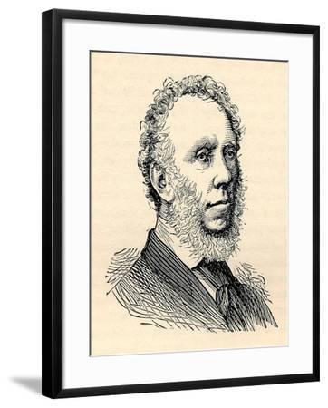 Edward Baines, (1774-1848), Printer, Paper Proprietor, Politician, 1893--Framed Giclee Print