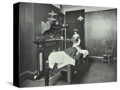 X-Ray Room, Fulham School Treatment Centre, London, 1914--Stretched Canvas Print